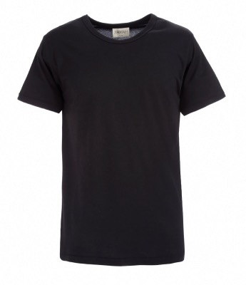 Men T-shirt in Bamboo - Black
