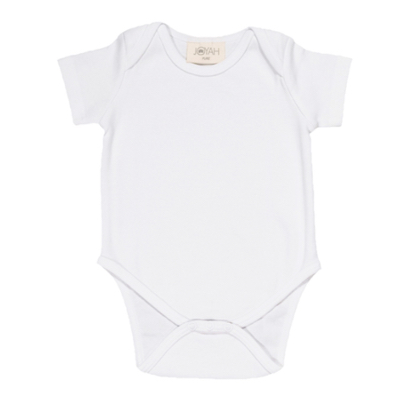 Baby-grow in Organic Cotton - White
