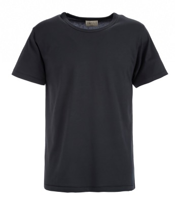 Men T-shirt in Bamboo - Charcoal Grey